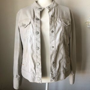 Gap Stretch Cream Corduroy Jacket